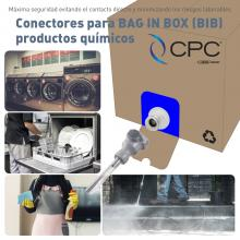 CONECTORES PARA BAG IN BOX (BIB)  PRODUCTOS QUÍMICOS